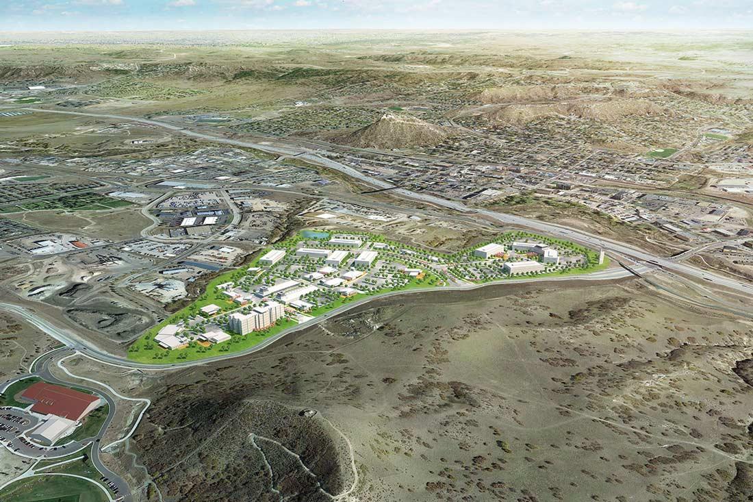 Aerial Shot of All Phase plan from Miller's Landing